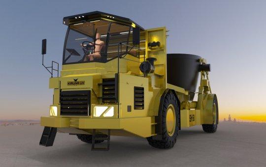 Kiruna Utility Vehicles levererar slaggtruck till Bolidens smältverk i finska Harjavalta