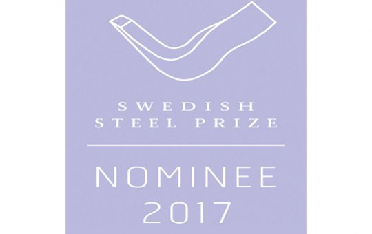 Kiruna Wagon nominated for the Swedish Steel Prize