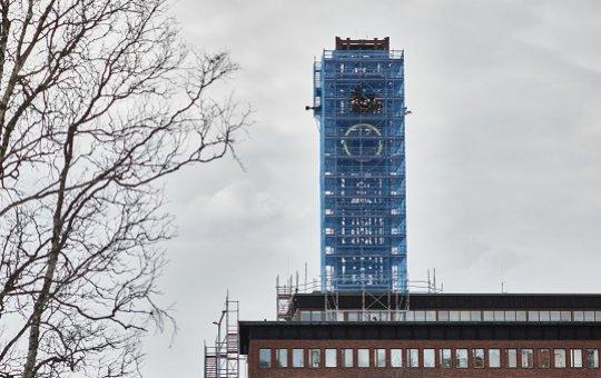 NMV flyttar klocktornet