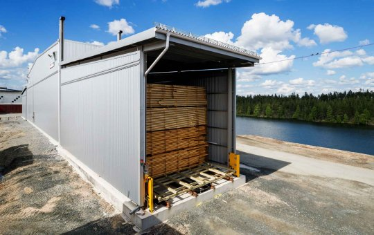 NMV Luleå manufactures in stainless steel sheet for leading supplier of timber kilns