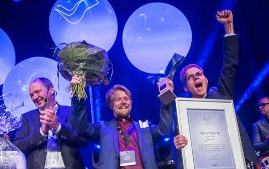 Kiruna Wagon årets vinnare av Swedish Steel Prize